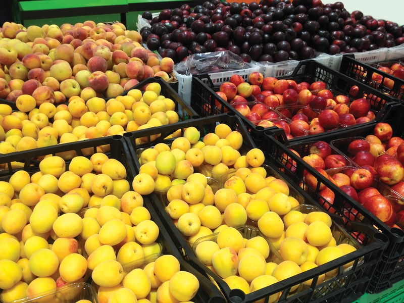 Advierten sobre duraznos contaminados que se vendieron en Carolina del Norte