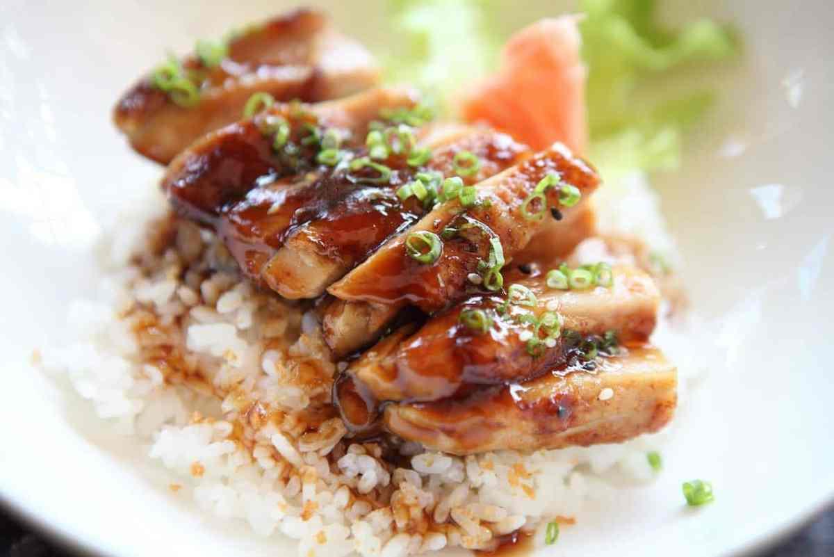 Teriyaki de pollo