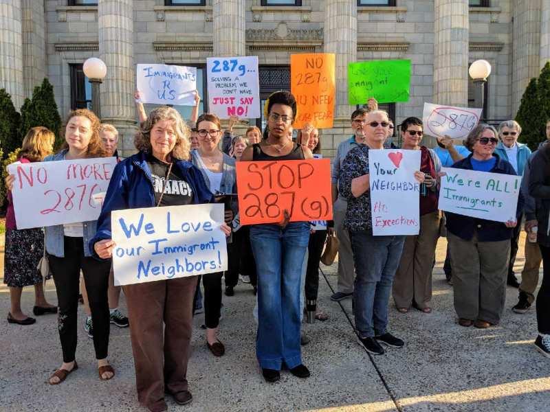 Lanzan campaña en contra del programa de deportación 287(g) en Henderson