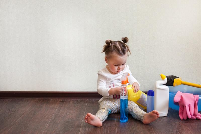 Prevenga la intoxicación y envenenamiento en el hogar