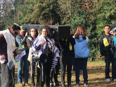 Activistas arrestados en protesta pacífica por colaboración de Alamance con ICE