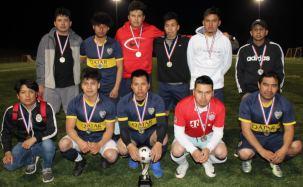 Campeones y más campeones en el torneo de Fútbol Sabatino