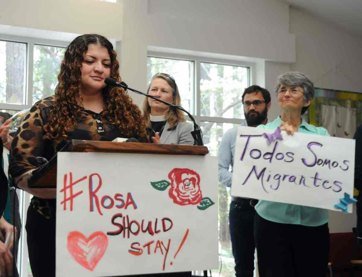 Ya no será deportada latina refugiada en santuario por casi dos años