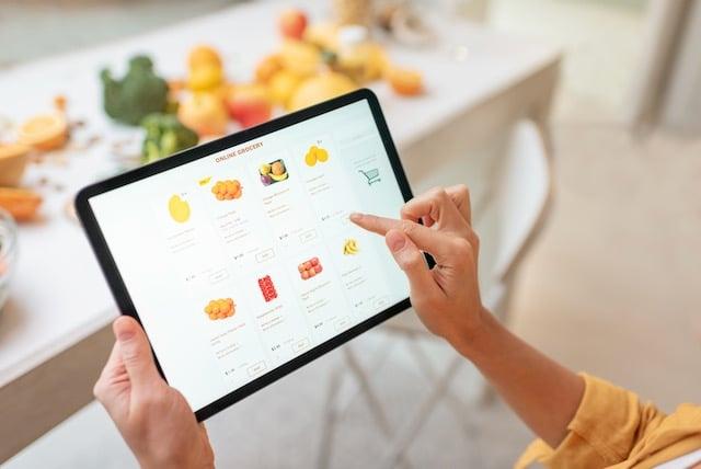 Puede comprar alimentos por internet usando tarjeta de EBT