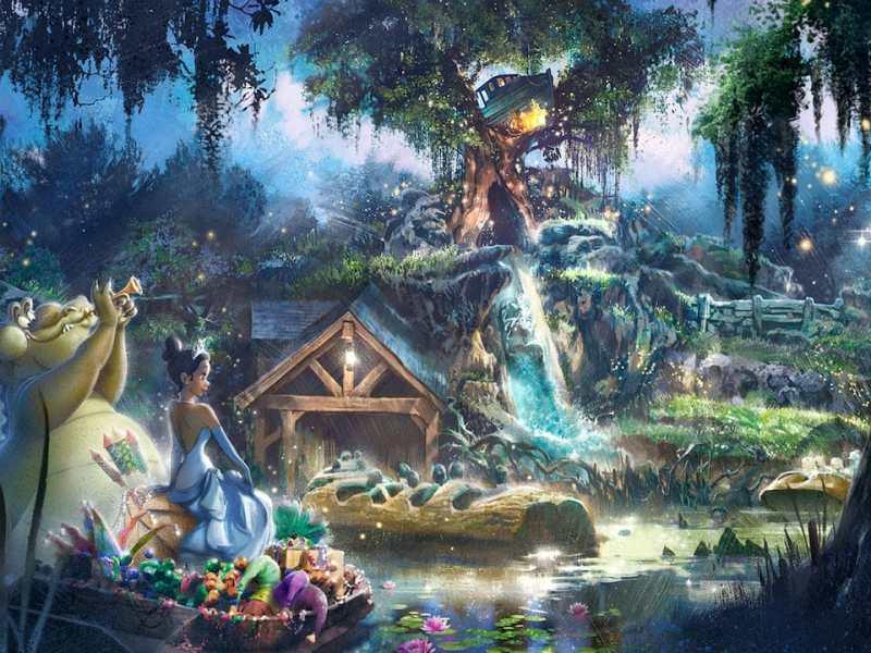 Disney tendrá una atracción con una princesa de color
