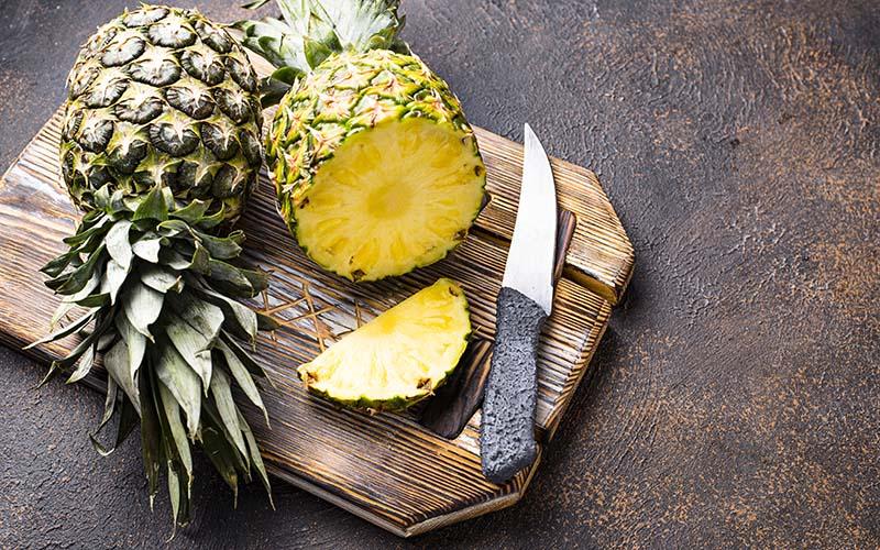 La piña: baja en calorías y alta en nutrientes saludables