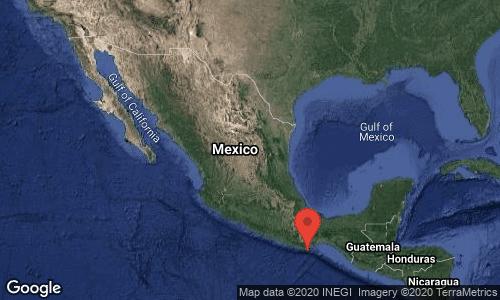 Sismo de magnitud 7.5 sacude a México