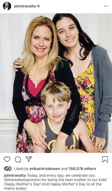 Kelly Preston e hijos