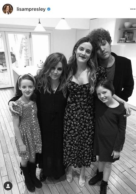 Lisa Marie Presley e hijos