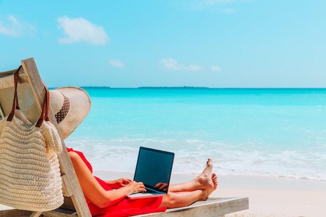 trabajar en un paraíso
