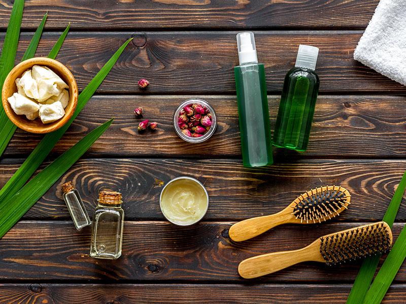 Evite la caída del cabello con productos naturales