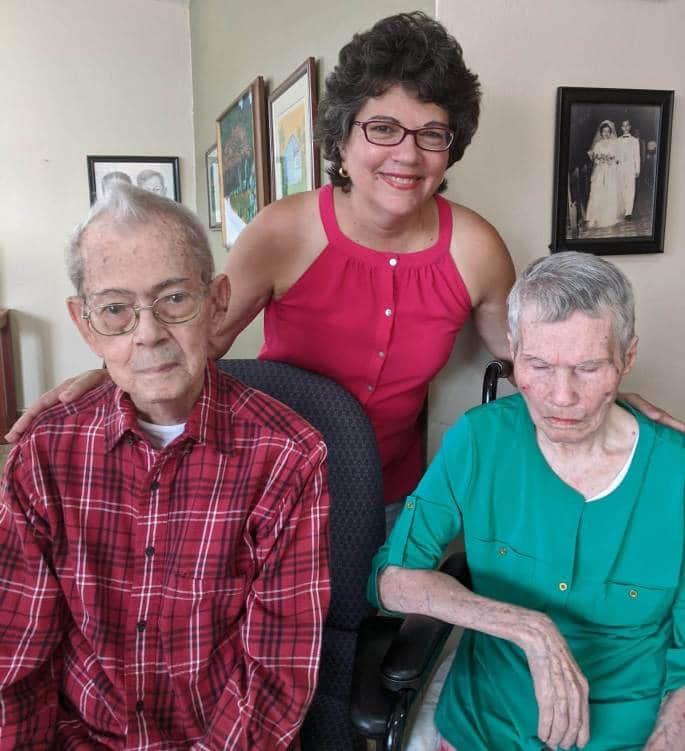 Cuidar a una madre con Alzheimer y un padre de 98 años