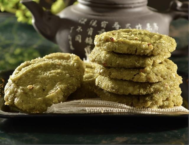 Galletas de té matcha: un delicioso snack saludable