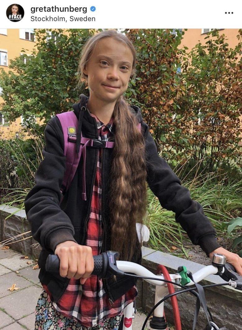 Greta Tunberg regresa a clases después de un año de luchar por el clima