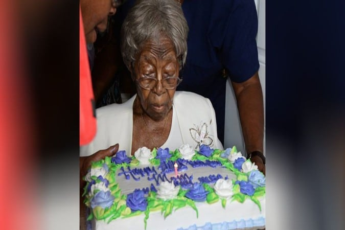 La persona mas anciana de Estados Unidos cumple 116 años en Charlotte
