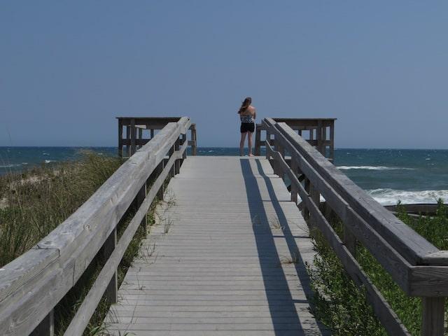Playa Lighthouse, Buxton en Carolina del Norte