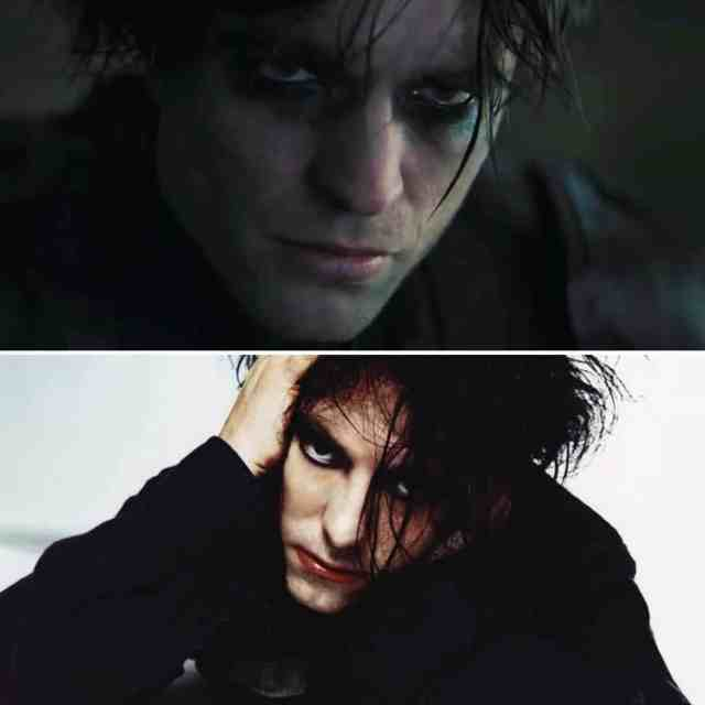 Robert Pattinson y Robert Smith