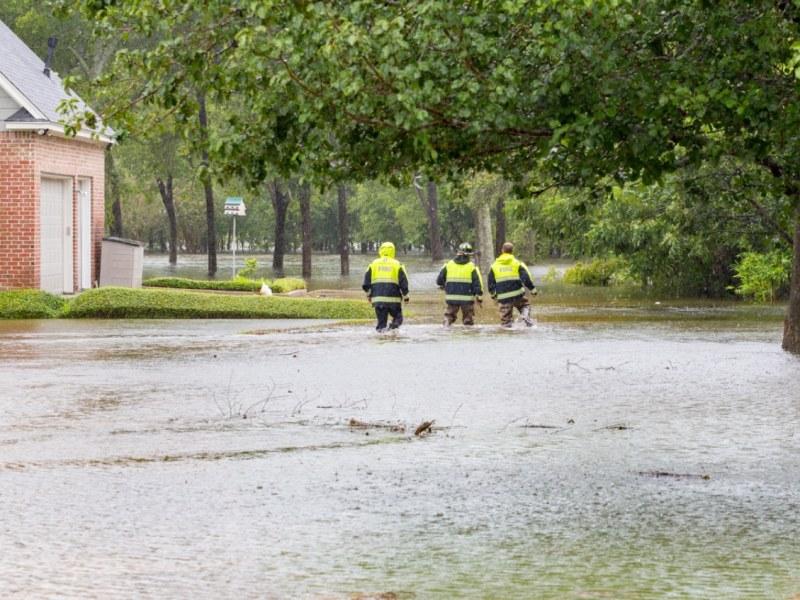 Lluvias Sally en Las Carolinas