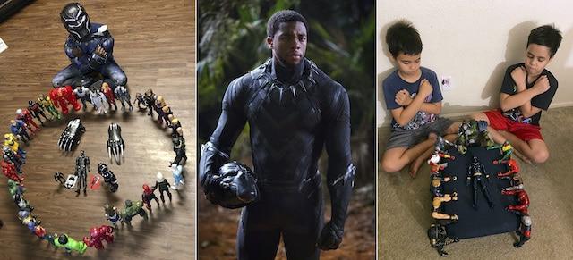 Black Panther: niños lloran a su ídolo en funerales simbólicos