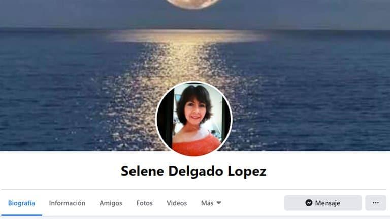 Selene Delgado López la historia de la mujer en Facebook