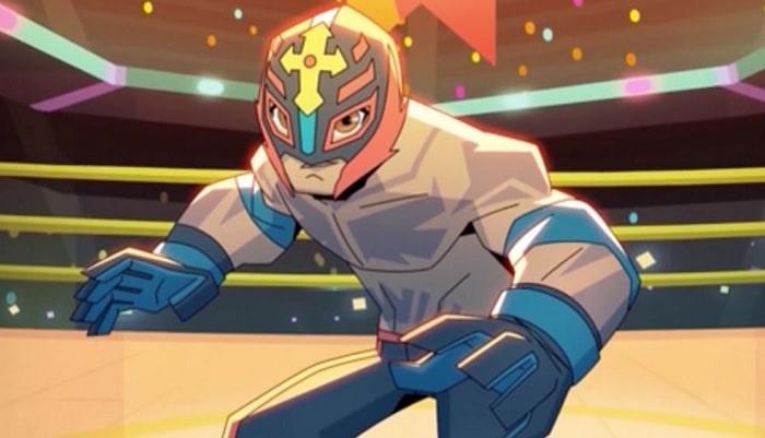 Rey Misterio Cartoon Network serie