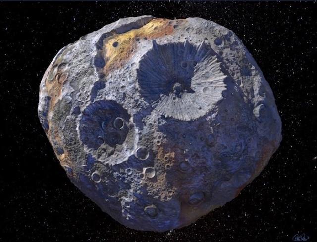 Descubren asteroide que vale más que la economía global del planeta