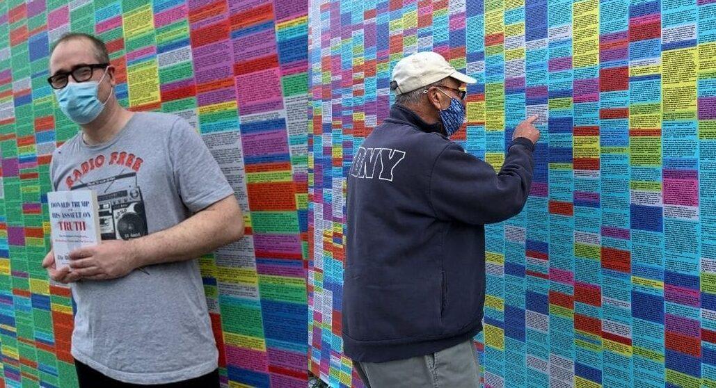 muro colores mentiras trump