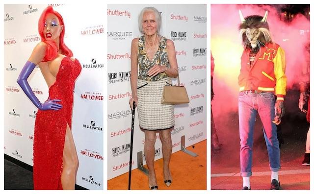 Heidi Klum: la reina de los disfraces de Halloween