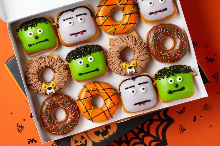 Ponte un disfraz de Halloween y recibe una dona GRATIS de Krispy Kreme