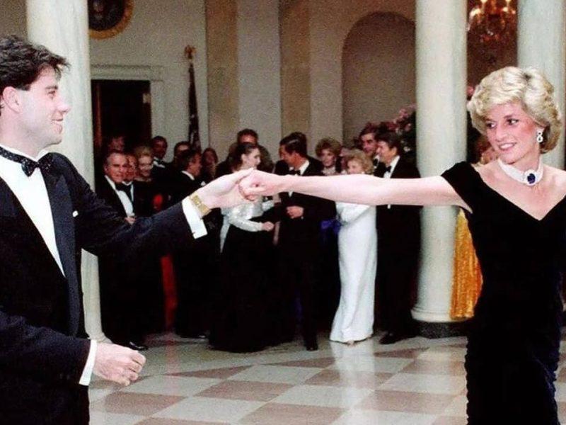 John Travolta bailó con Lady Di