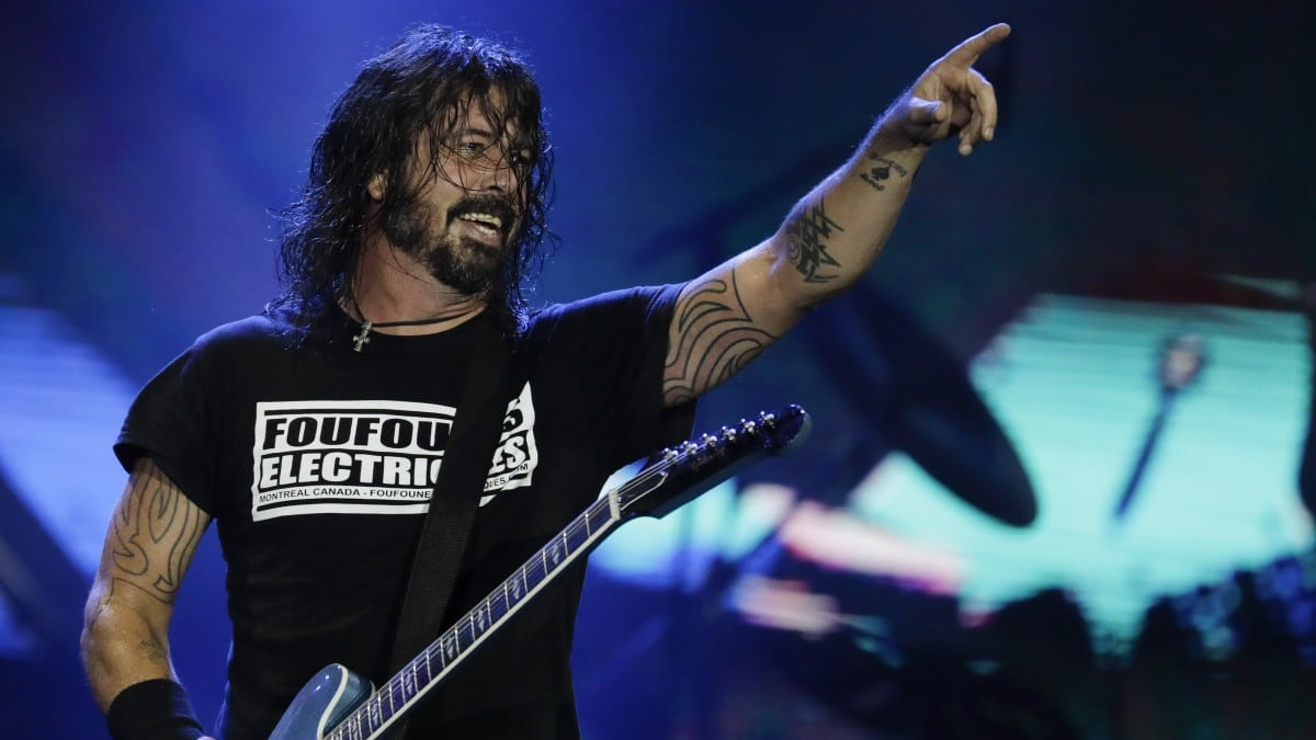 Dave Grohl St Vincent