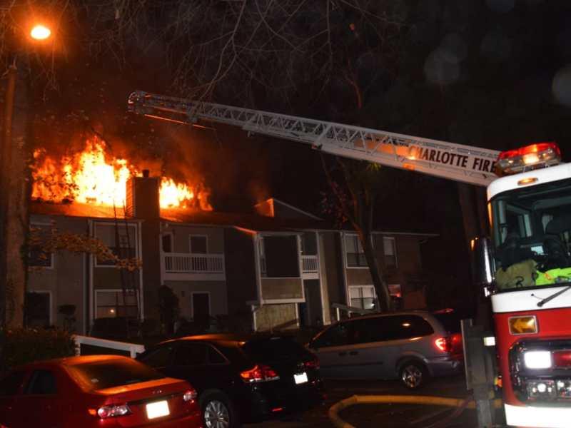Incendio en Charlotte