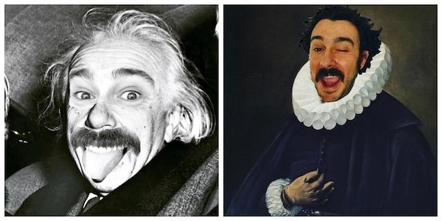 Paco Pajuelo, el profesor que se disfraza de personajes de la historia