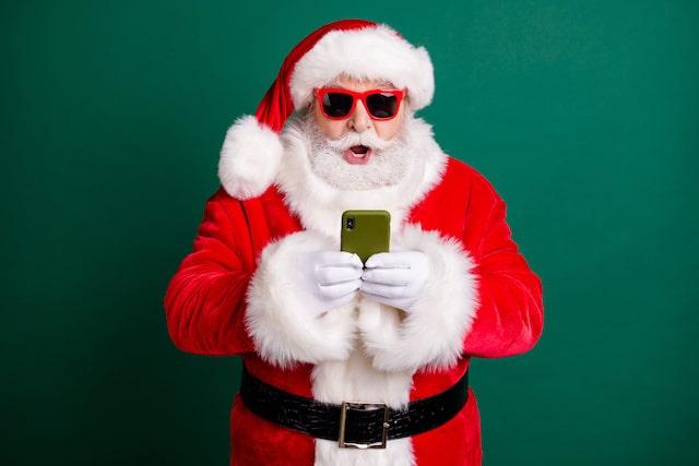 Santa Claus por Zoom ¿Cómo organizar la divertida llamada?