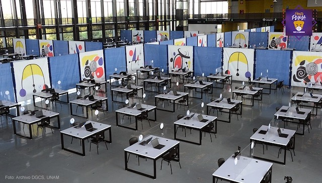 UNAM prestará computadoras a los estudiantes y maestros durante la pandemia