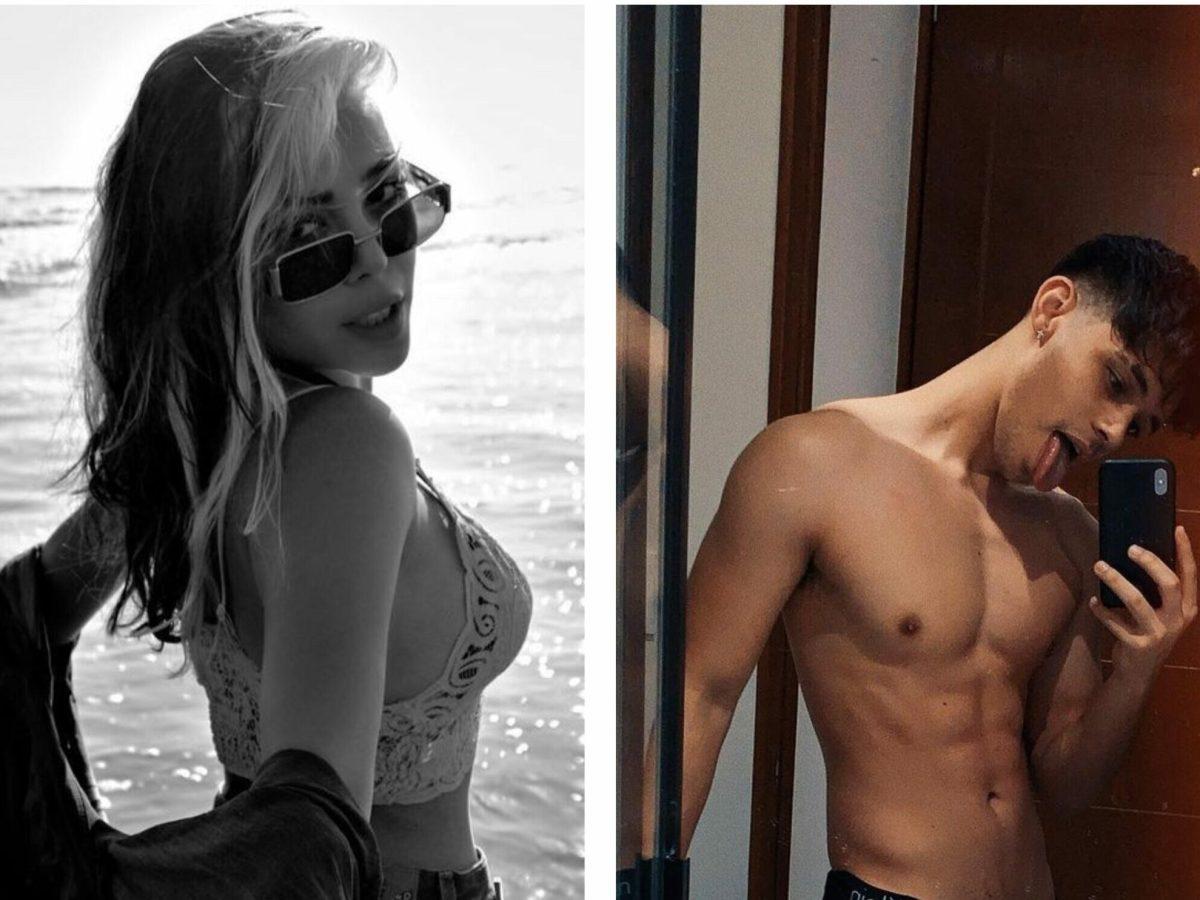 Danna Paola y Alex Hoyer tienen una relación