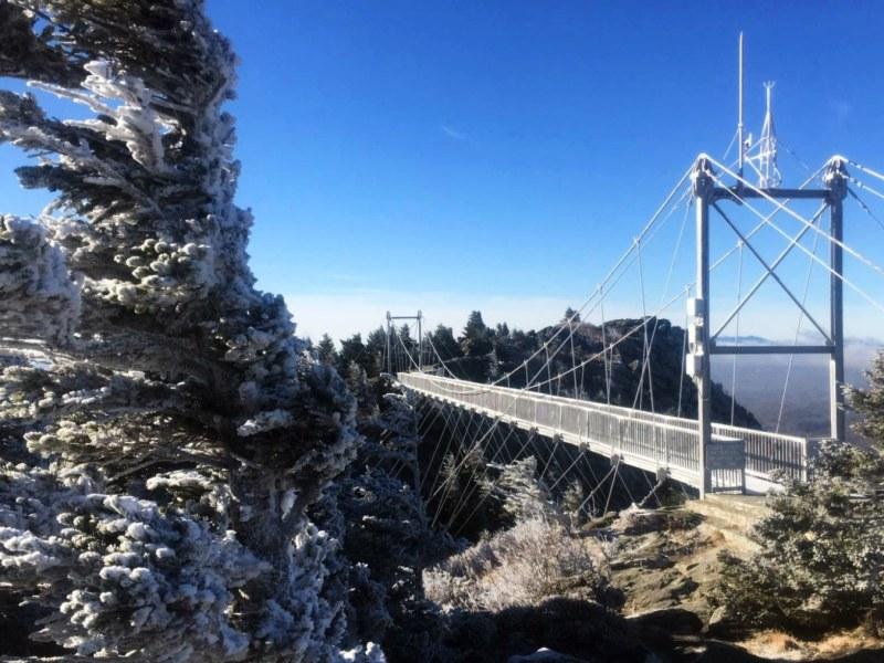 Tormenta invernal Carolina del Norte Navidad