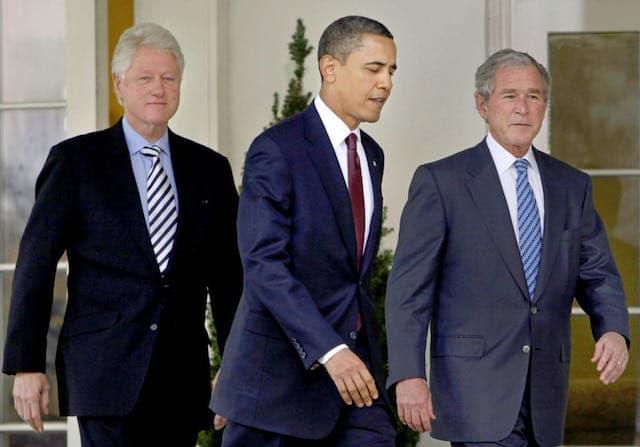 Ex-presidentes Obama, Bush y Clinton tomarán vacuna COVID-19