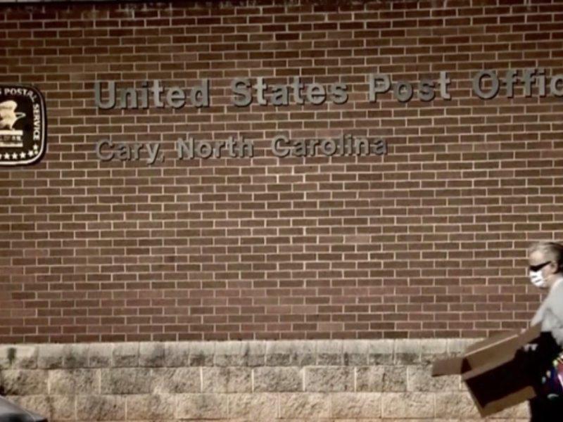 Servicio Postal paquetes Carolina del Norte