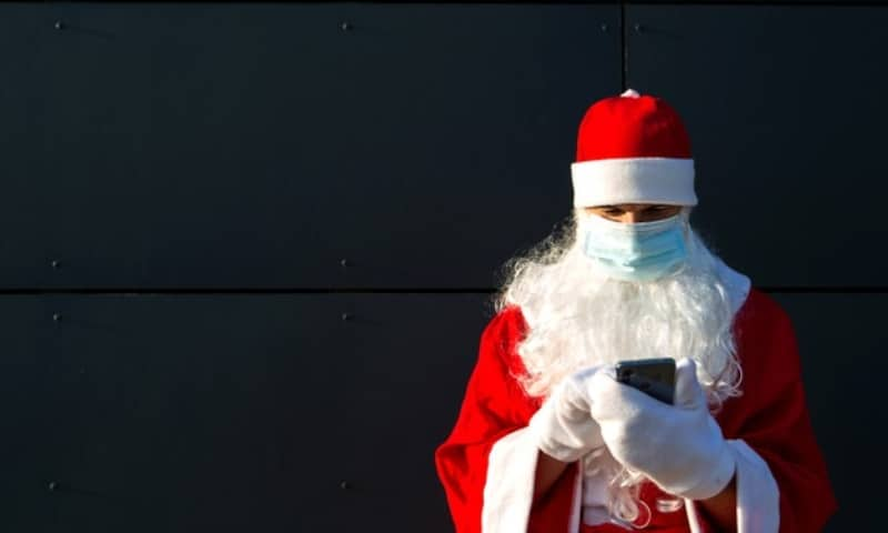 Santa Claus coronavirus