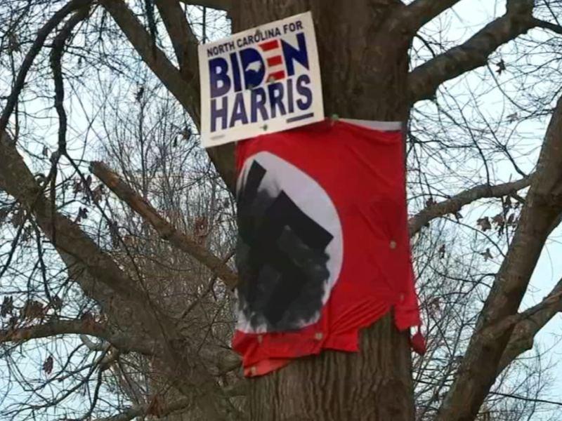 Bandera nazi Wake