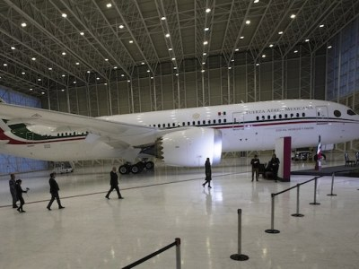México cumple 3 años de intentar vender el avión presidencial