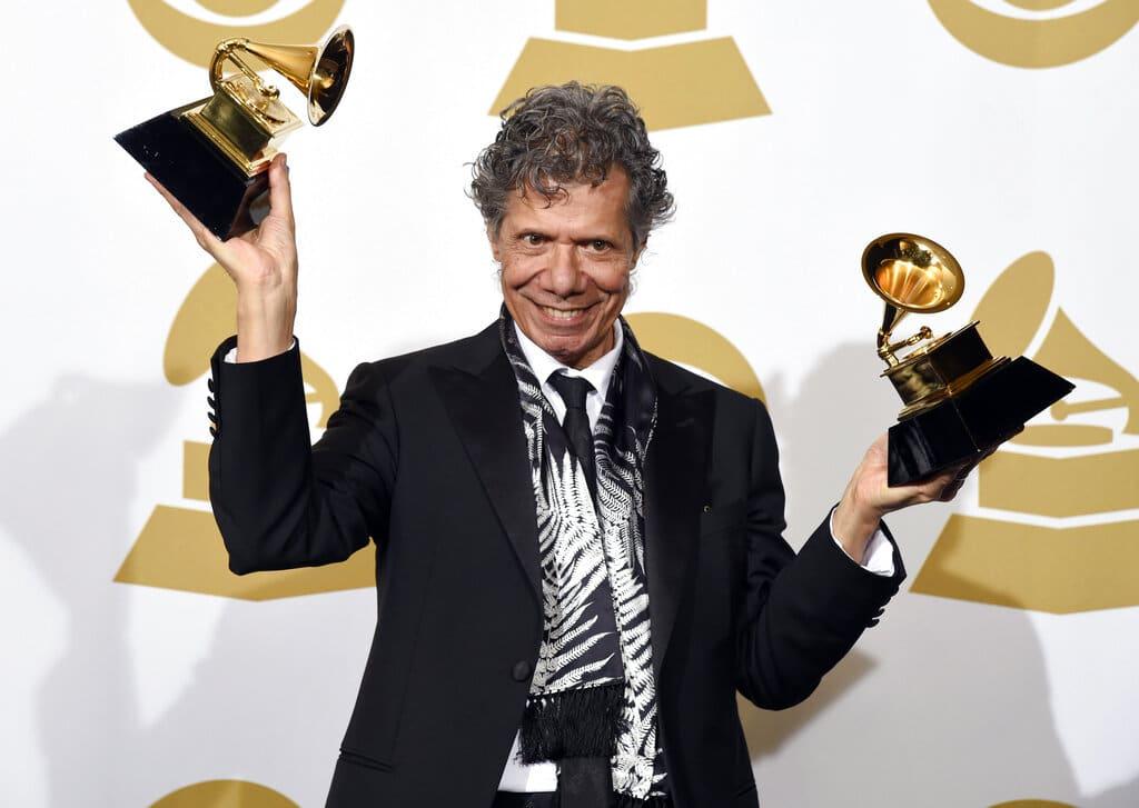 Fallece Armando Chick Corea, ganador de 23 Grammy