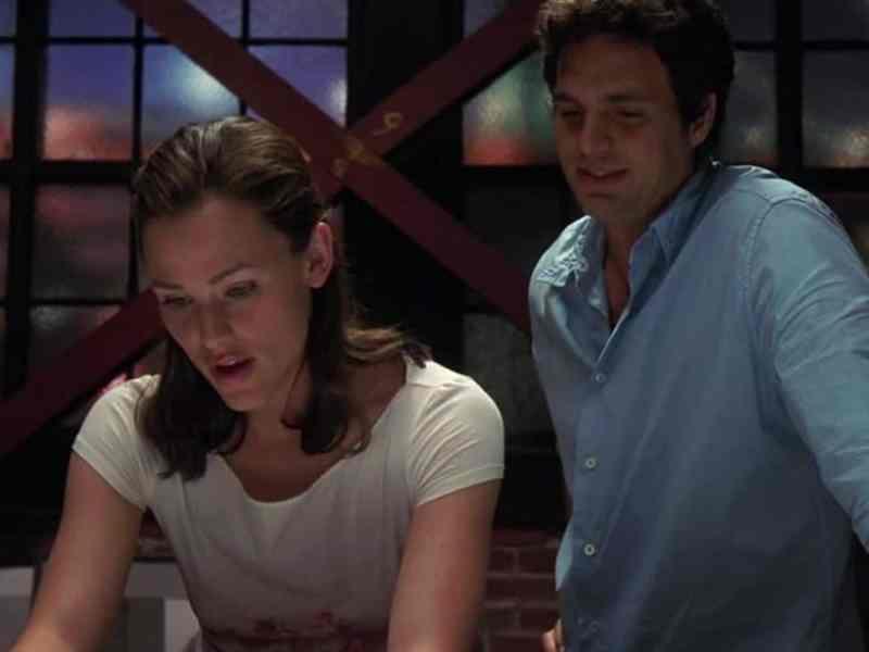 Jennifer Garner y Mark Ruffalo si yo tuviera 30