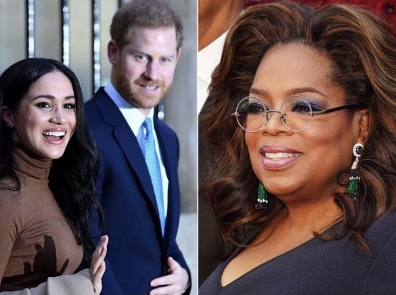 Oprah entrevista a Meghan y Harry