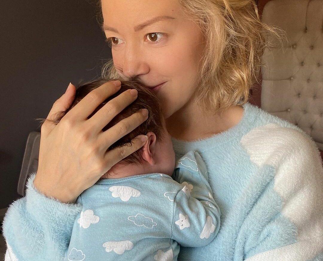 Fernanda Castillo bebé