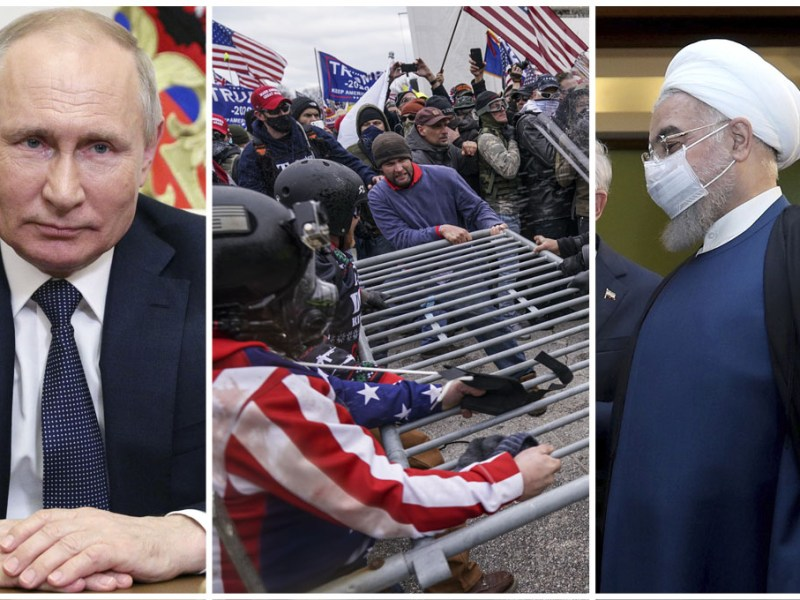 Rusia, Irán y Venezuela trataron de influir en elecciones