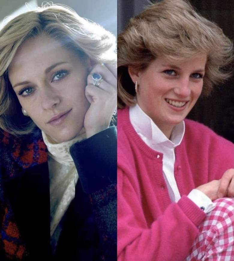 Kristen Stewart luce igual a la Princesa Diana