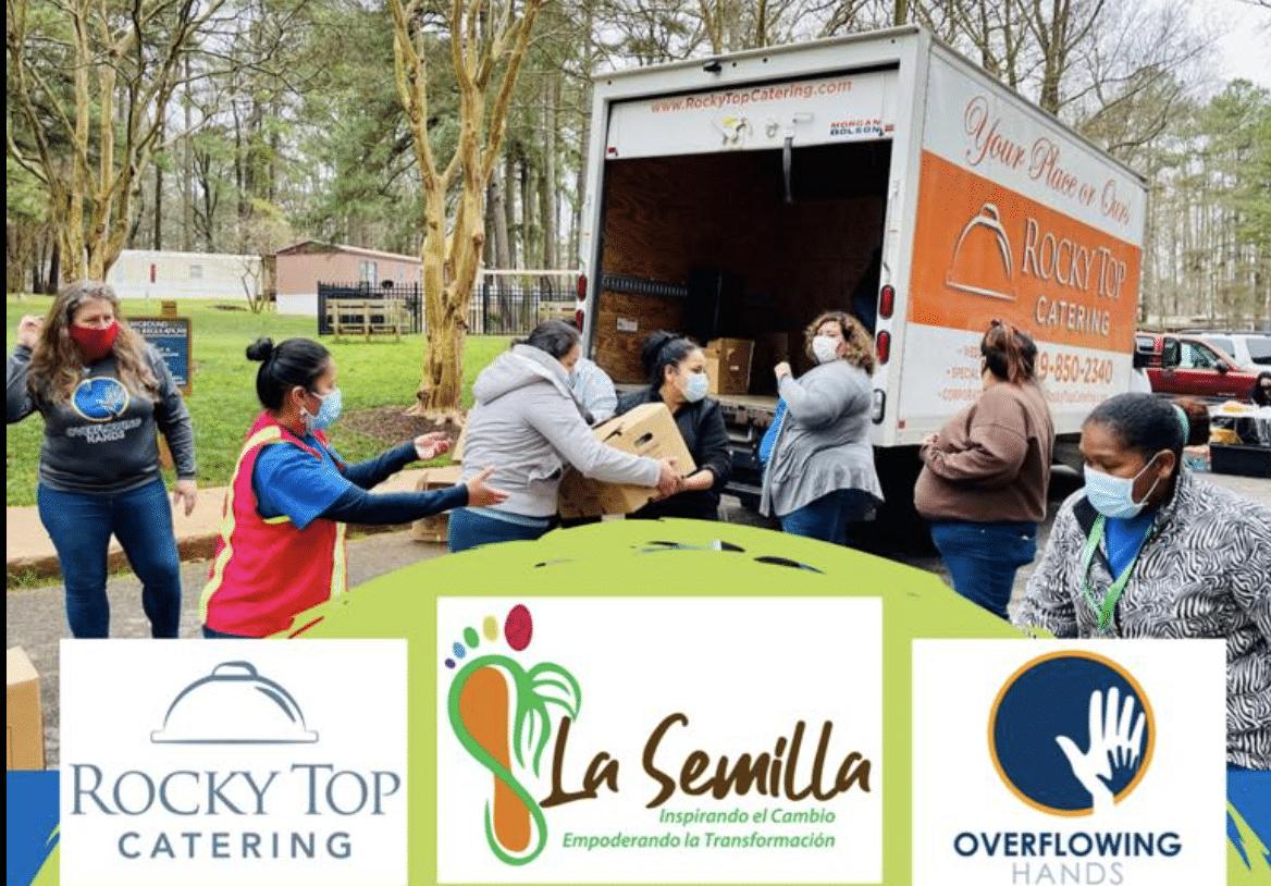 Ofrecen comida gratis en Raleigh el miércoles