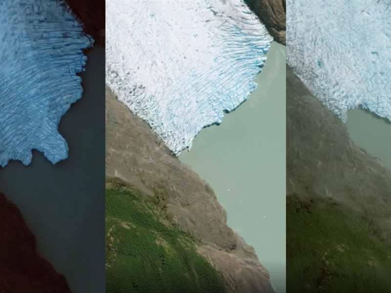 Google Earth muestra efectos del cambio climático